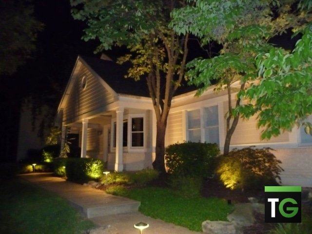 Outdoor LED Landscape House Lighting Chesterfield MO_ws