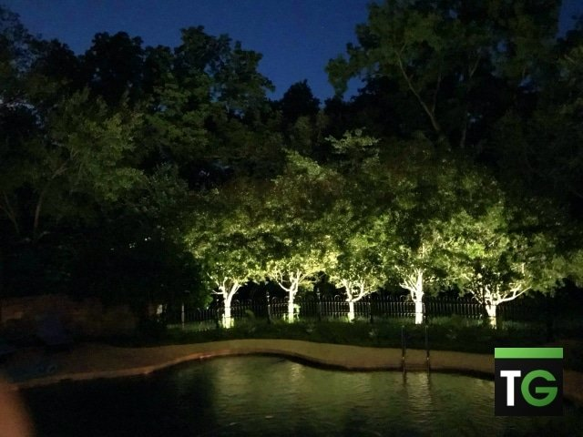 Outdoor LED Patio & Pool Landscape Lighting Ladue MO_ws