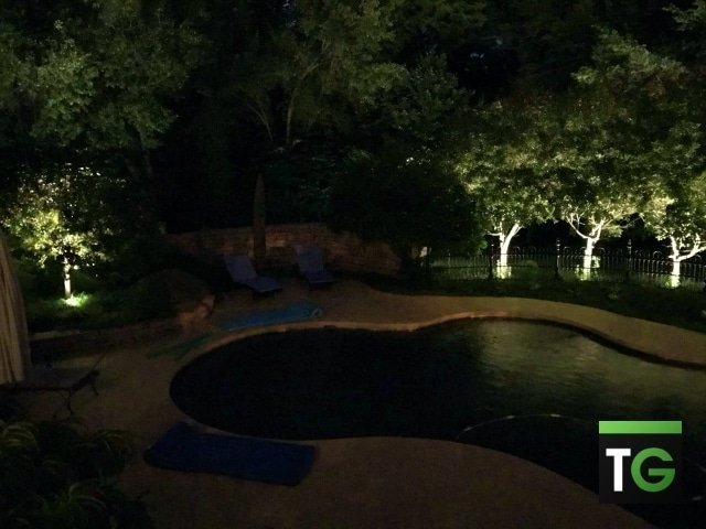 Outdoor LED Pool Lighting Ladue MO_ws