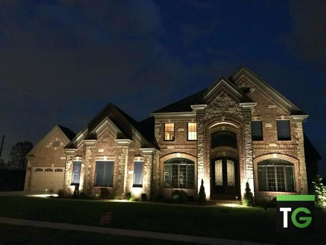 Outdoor LED UpLighting Clayton MO_ws